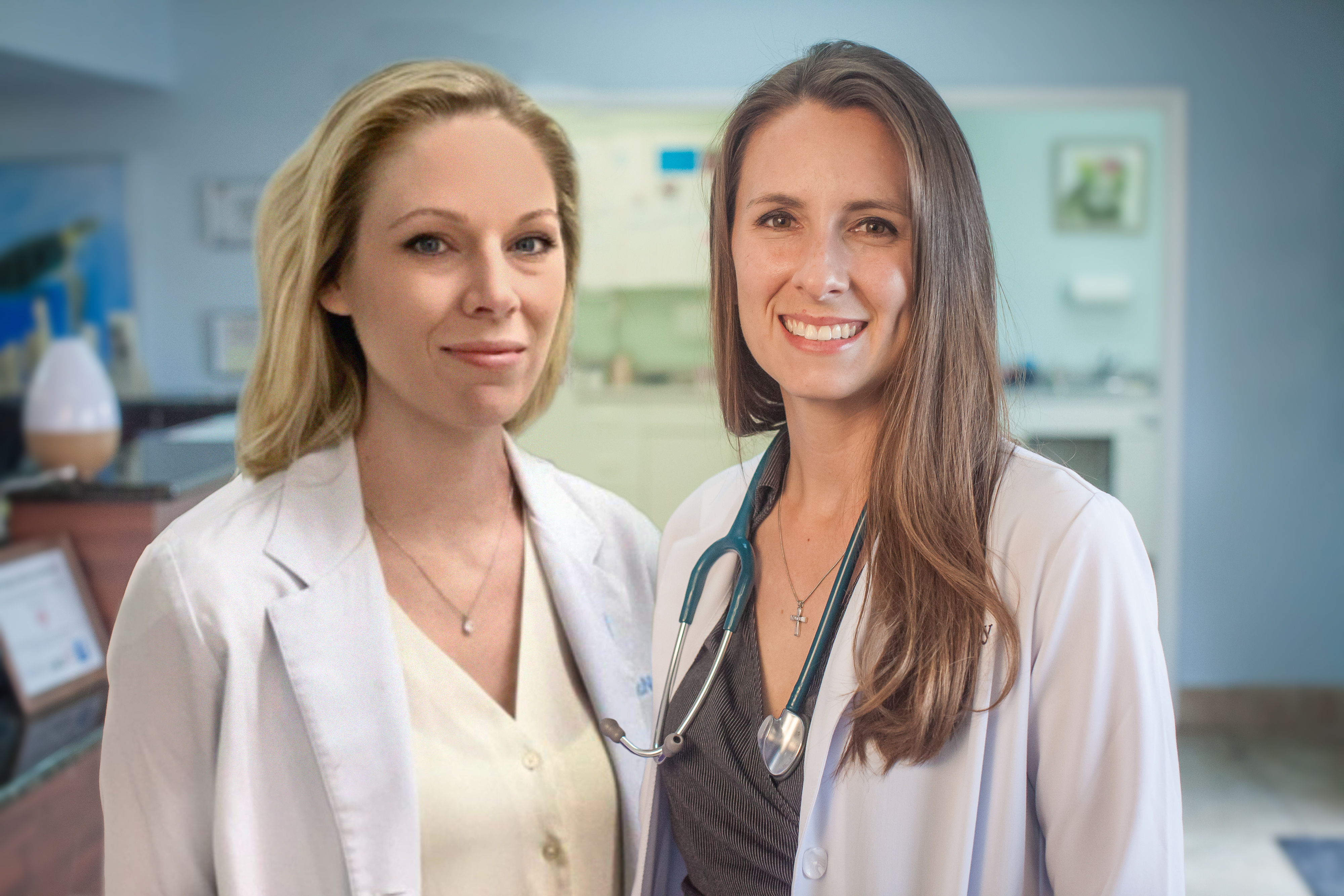 Drs Casey and Ashley