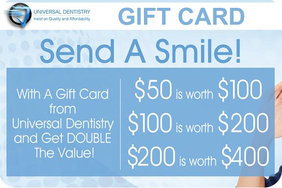 dental gift card